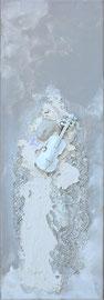 """"""" La musicienne"""" 20x60 - 260€ - Vendu !"""