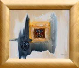 """Lion médiéval"" - 50 x 61 - 780€"