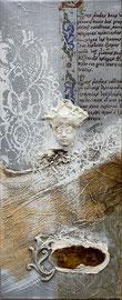 """""""la reine Astride"""" 30x50 - 300€"""