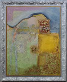 """""""Le jardin"""" -  Format sans le cadre 80 x 120 - 2250€"""