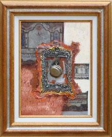 """""""Le temps"""" - 33 x 41 - 380€ sans cadre"""