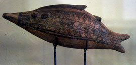 Minoan Pottery Dolphin (Pierides Collection Larnaka)