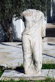 Marble figure, Larnaca Archaeological |Museum