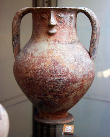 Bichrome Red Ware Jug, Cypro Archaic Period I 750-600BC  Marion (Pierides Collection Larnaka)