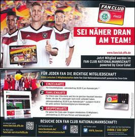 DFB, 2014, 'Fan-Club Nationalmannschaft', Schweinsteiger, Boateng u.a