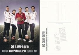 Helmer, 2012, Camp David, Teamkarte