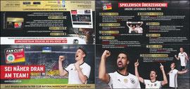 DFB, 2016, 'Fan-Club Nationalmannschaft', Schweinsteiger u.a