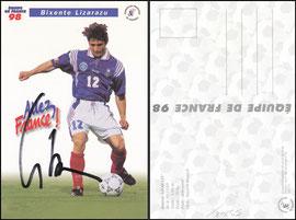 Lizarazu, 1998, französische Nationalelf