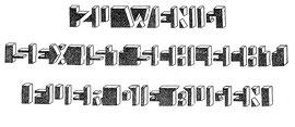 Können Sie das lesen?