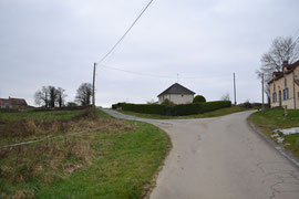 vue sur le gîte de chez bijou à Genouillac en Creuse