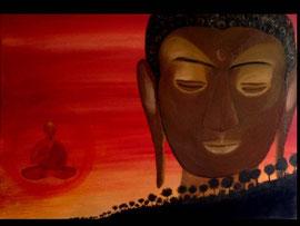 Seelenfrieden mit Buddha