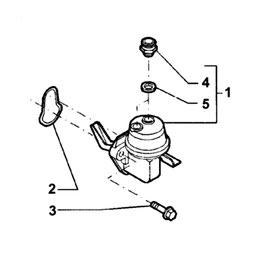Bomba para elevación de combustible de NH TS y sus componentes.