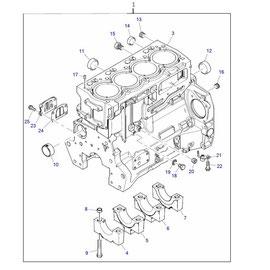 El monoblock y sus componentes.