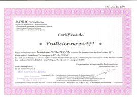 Diplôme EFT niveau 1 et 2