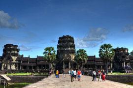 Angkor Wat westlicher Haupteingang