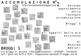 Un Installazione di Massimo Abbiati