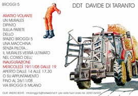 DDT Davide di Taranto  ARATRO VOLANTE.