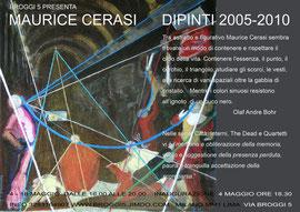 Maurice Cerasi    DIPINTI 2005-2010
