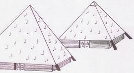 dessin des futures pyramides