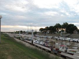 Boote auf der Gironde