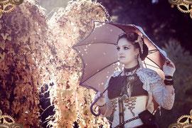 steampunk lady | 201510 • www.visovio.de • |steampunkflair, gears, rufflesandsteam, steampunk