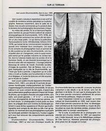"""Extrait de """"Esse Arts + Opinions"""",  Montréal, printemps 1998, no 34, spécial Mauricie - Bois-Francs."""