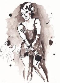 Roaring 20's 2016 | ink on paper | 32 x 24 cm