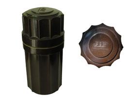 Schutzbehälter für Tintenfass JiF (Jules Fagard, Lizenzproduktion von Waterman), made in Switzerland, S&Co 4606 - Höhe 10 cm, Durchmesser ca. 4.5 cm