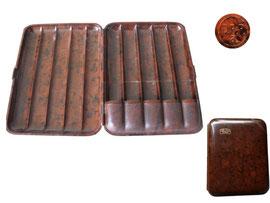 Zigarrenetuie, Werbung Carl Zeiss Jena - Länge 14 cm, Breite 11 cm