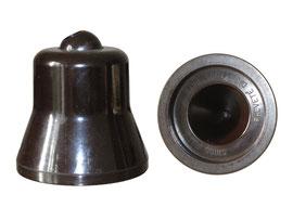 Spitzer/Minenschärfer Gedess (Entwurf:  Georges Dessonnaz, Hersteller: Hermann Kuhn AG, Bassersdorf, CH) ab 1944 - Höhe 6.6 cm, Durchmesser 6.2 cm