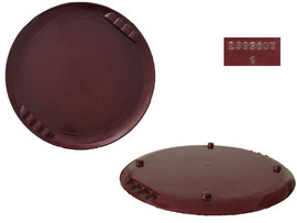 Tablett Art Deco, Durchmesser 33.5 cm