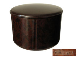 Grosse Kaffeedose CAFE HAG, 1940 - Höhe 11 cm, Durchmesser 15 cm