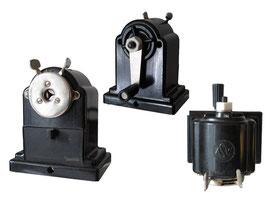 """Spitzmaschine """"ASW 120"""" (ASW  steht für: Alfred Schneider Werdau, hier Weiterführung der Produktion der FTE 120) - Länge 10 cm, Breite 7 cm,  Höhe 12 cm"""