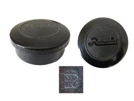 Farbbanddose Rotaprint - Höhe 2.8 cm, Durchmesser unten 6.3 cm