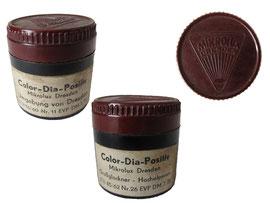 Filmdosen Color-Dia-Positiv, Mikrolux Dresden