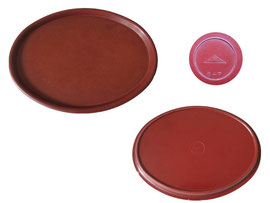 Tablett oval, OWO 847 - Länge 25.5 cm,  Breite 19.8 cm,  Höhe 1.5 cm