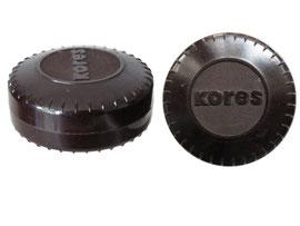 Farbbanddose Kores - Durchmesser 6.5 cm, Höhe 3 cm