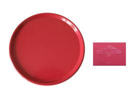 Tablett rund, OWO Edelgeschirr 777/1 - Durchmesser 24 cm, Höhe 1.6 cm