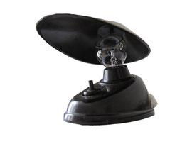 Lampe Typ 11641, Streamline, prod. von ESC Tschechoslovakei 1926-1940, entworfen von Eric K. Cole, Streamline - Höhe 15 cm, Länge 15 cm, Breite 9.5 cm