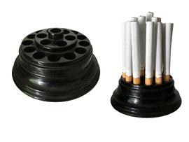Zigarettenspender, Hersteller unbekannt - Durchmesser 9 cm, Höhe 3 cm