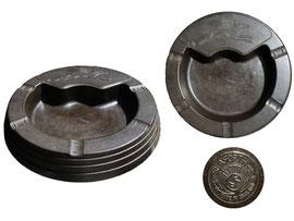 Aschenbecher, Hersteller Seaforth Plastics Ltd, made in England - Durchmesser 15 cm, Höhe 2.5 cm