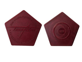 Tesafilm Abroller DRP, (Hersteller: P. Beiersdorf & Co. AG, Hamburg) - Länge 6.8. cm, Höhe 2.2 cm