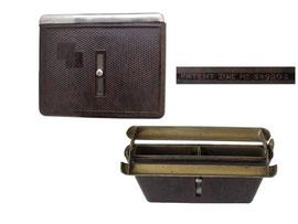 Zigarettenbox PATENT ZOIE NO 349203 - Breite 10.5 cm, Höhe 9 cm, Tiefe 1.5 cm