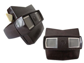 View Master. Made in Belgium by Sawyer's Europe Brussels, Modell E (fabriziert 1956-1960)