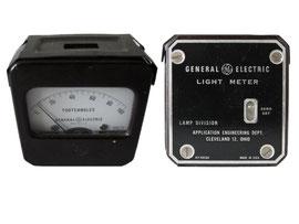 Belichtungsmesser, hergestellt G.E.C.GE, West Lynn, Mass., USA, Typ 8DW40Y16