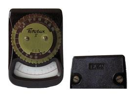 Belichtungsmesser Fotolux 2 - EAW, Hergestellt von Elektro Apparate Werke (EAW) in Berlin Teptow - Länge 7.5 cm, Breite 4.5 cm, Tiefe 2 cm
