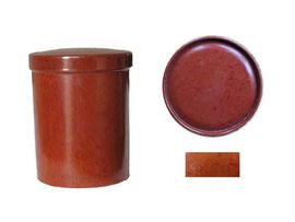 Zigarettendose rund, D.R.G.M. - Höhe 7.5 cm, Durchmesser unten 5.5 cm