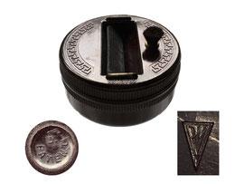 Minen-/Bleistiftschärfer Grafitex - Durchmesser 7 cm, Höhe 3.5 cm