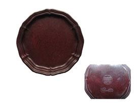 Untersetzer, Chippendale, Kerit  3073 - Durchmesser 9 cm