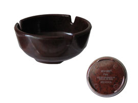Aschenbecher GES-LINE, Gessner Products Co., Ambler, PA. 19002. made in USA - Durchmesser oben 8 cm, Höhe 3.2 cm
